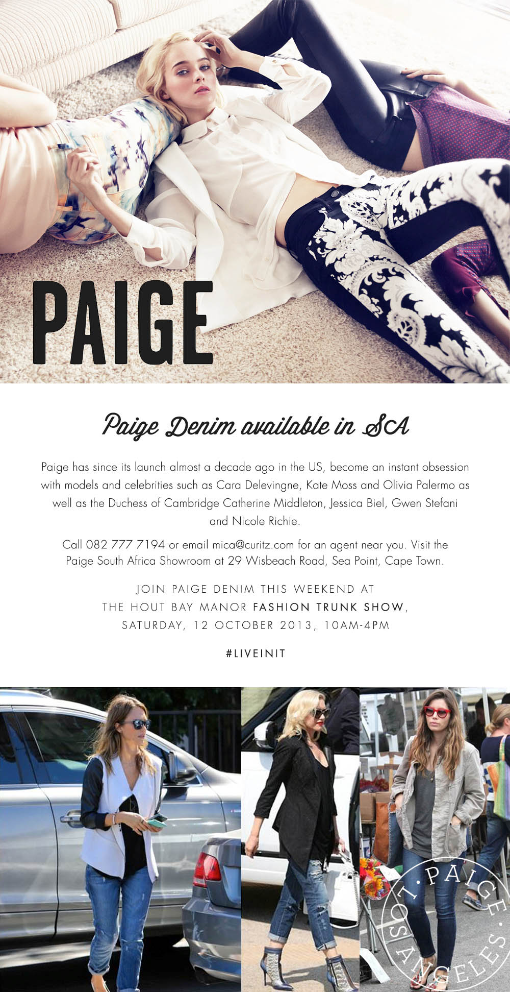 Paige Hout Bay Manor
